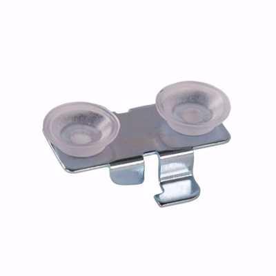 Glass Shelf Bracket Center Clip