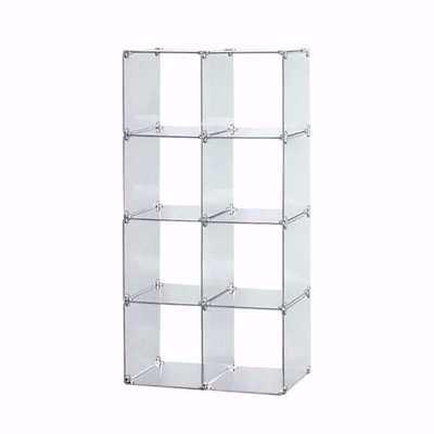 Glass Cube Unit 2W x 4H