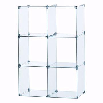 Glass Cube Unit 2W x 3H