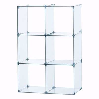 Glass Cube Unit 2W x 3H