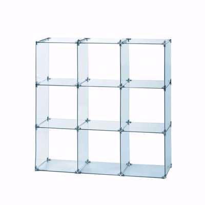 Glass Cube Unit 3W x 3H
