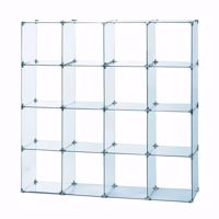 Glass Cube Unit 4W x 4H