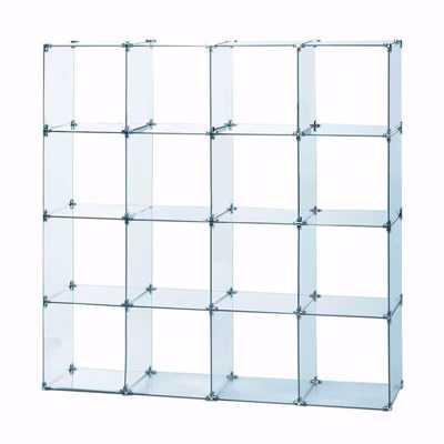 Glass Cube Unit 4W x 4H