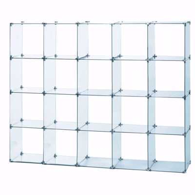 Glass Cube Unit 4W x 5H