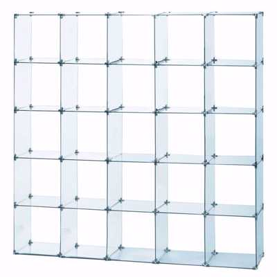 Glass Cube Unit 5W x 5H