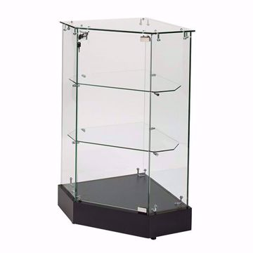 Glass Corner Filler Frameless Display Case