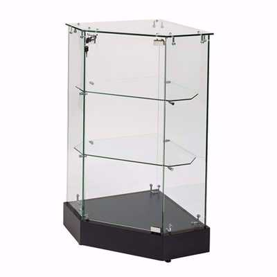 Glass Corner Filler Frameless Display Case