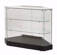 Glass Rear Access Filler Frameless Display Case