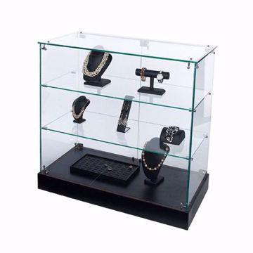 Glass Showcase Frameless Display Case