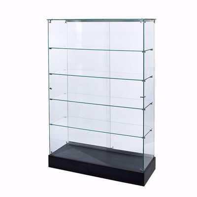 Glass Upright Frameless Display Case