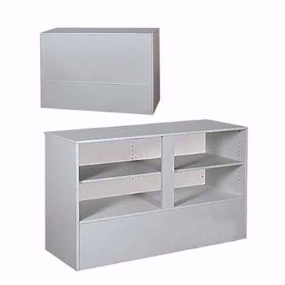 4 ft Service Counter RTA Gray