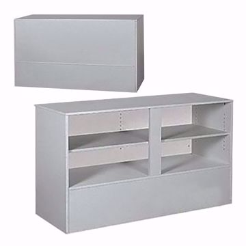 6 ft Service Counter RTA Gray