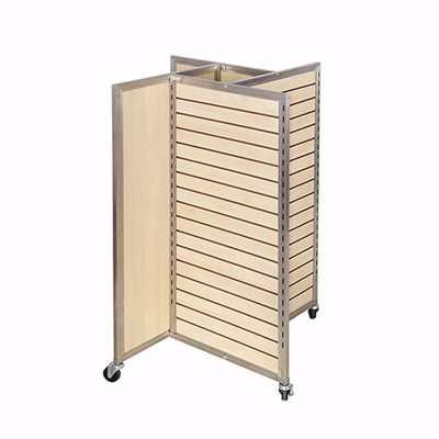 Framed Slatwall Pinwheel Merchandiser