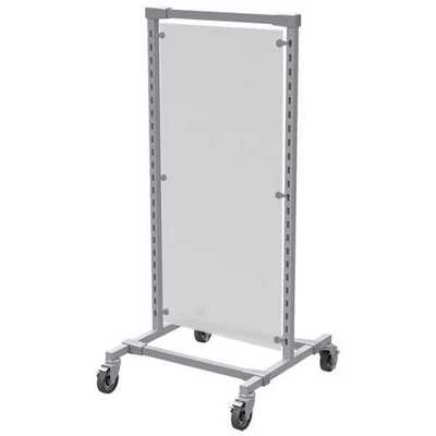 2-Way Rack Frosted Acrylic Panel
