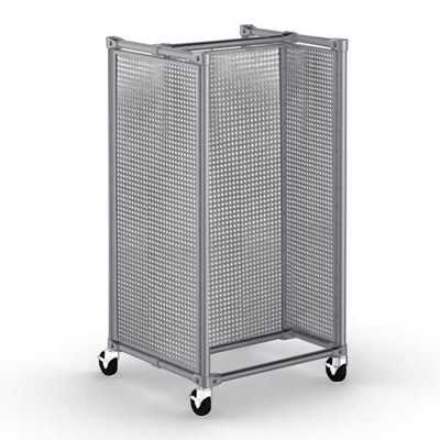 Classic Collection Gondola 1-Module with Perforated Panels